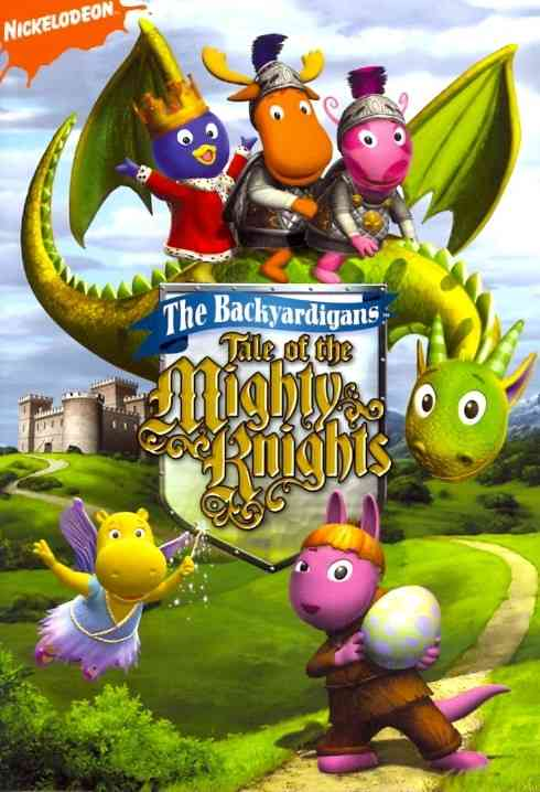BACKYARDIGANS:TALE OF THE MIGHTY KNIG BY BACKYARDIGANS (DVD)